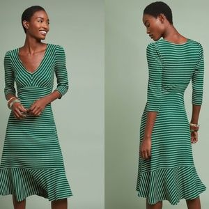 NWT NEW Anthropologie Flores Striped Dress